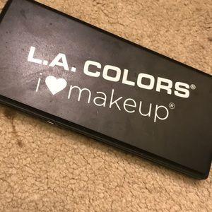 La colors natural makeup palette